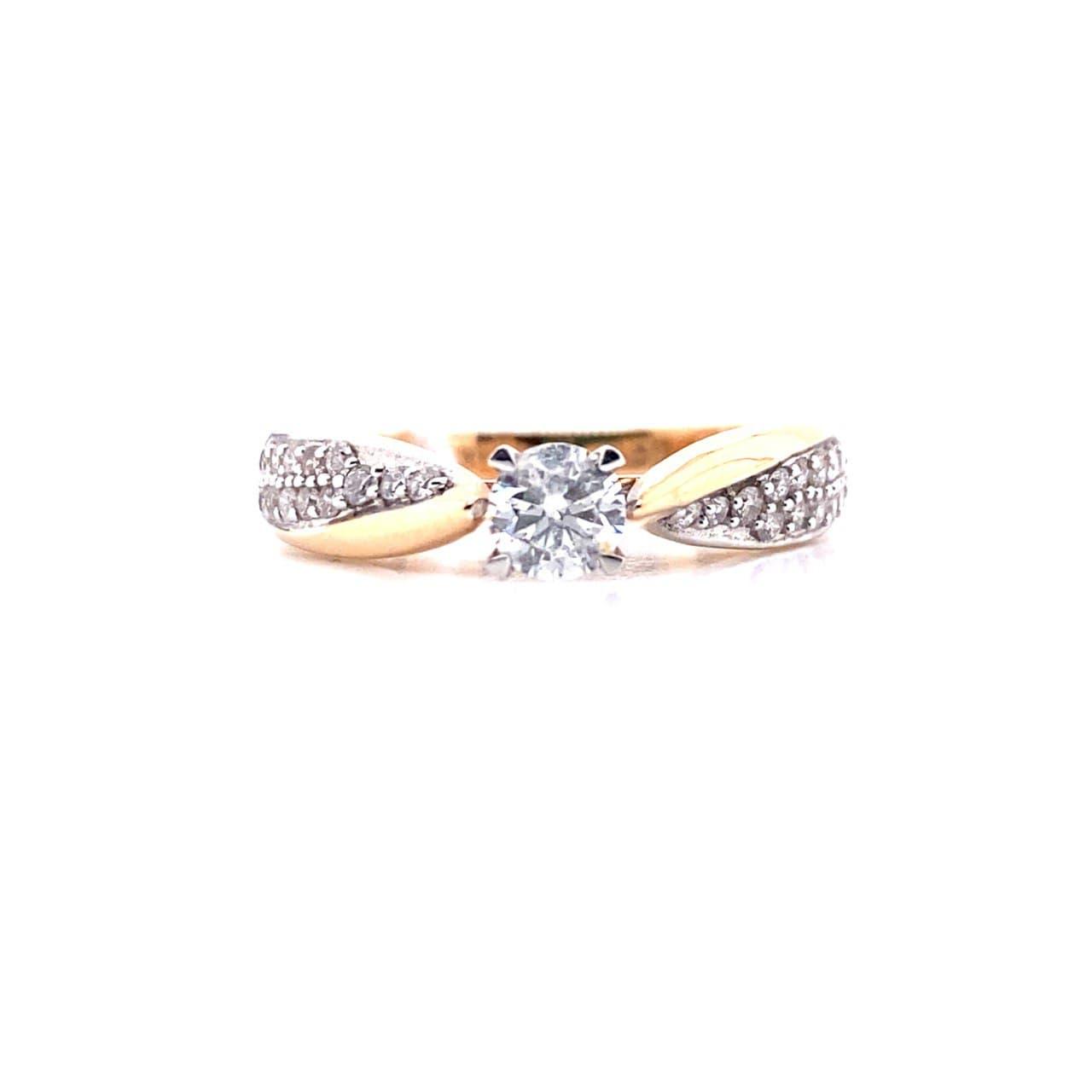 Золотое кольцо rr03404d