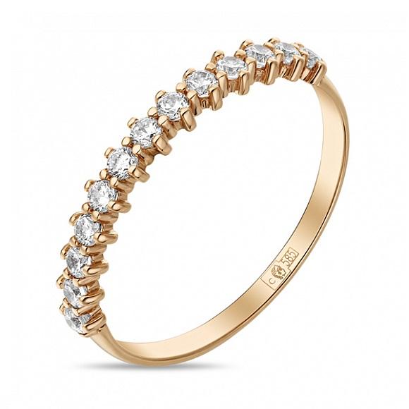 Золотое кольцо Фианит арт. r01-z-59259-z r01-z-59259-z