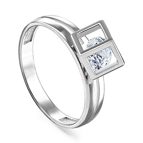 Серебряное кольцо Кристалл сваровски арт. 11-164-8100 11-164-8100