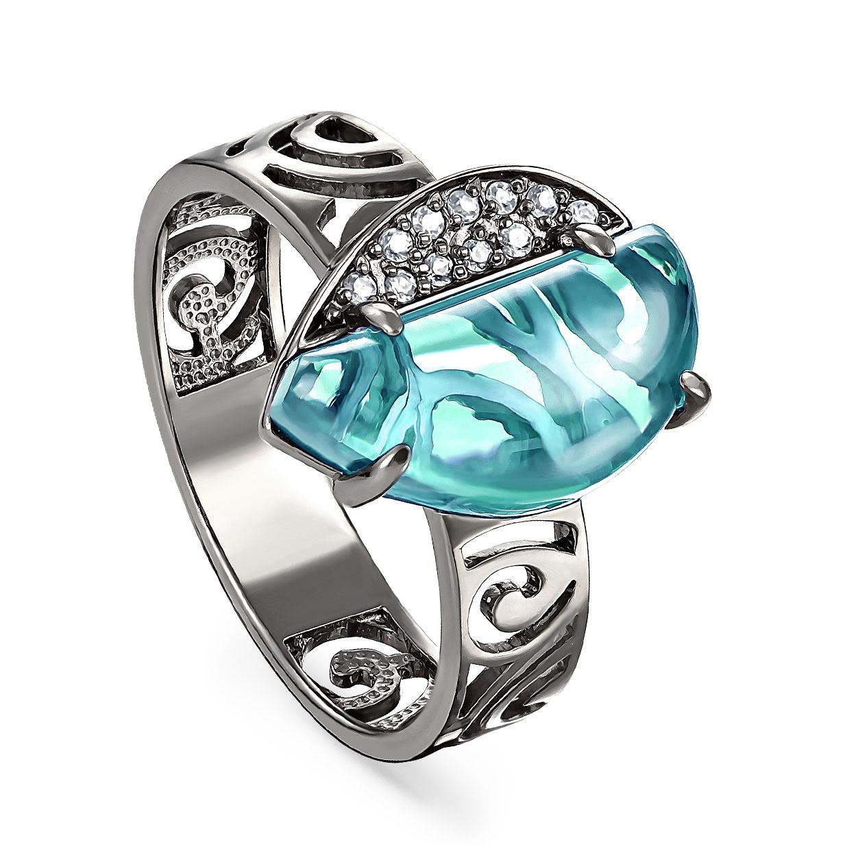 Серебряное кольцо Прочие и Фианит арт. 11-179-7089 11-179-7089