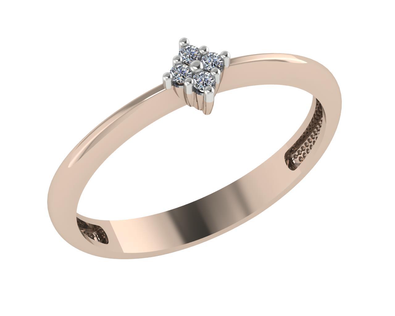 Золотое кольцо Фианит арт. 1026131-11210 1026131-11210