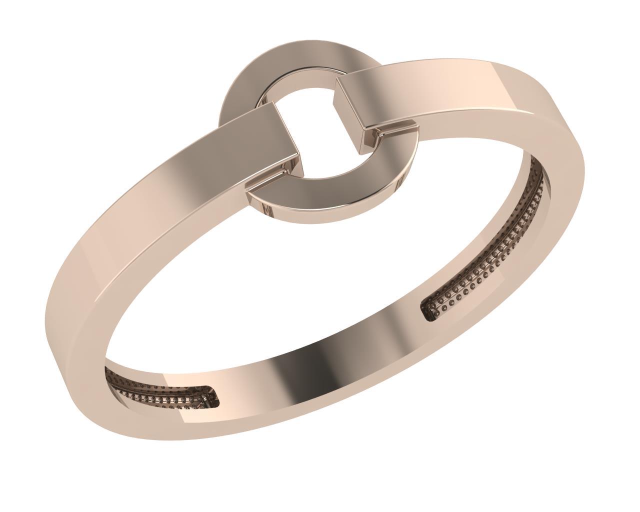 Золотое кольцо Без вставки арт. 1027361-10000 1027361-10000
