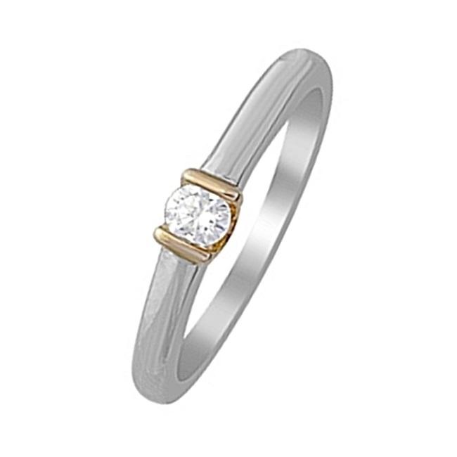 Кольцо из белого золота Бриллиант арт. r01-d-igr-27822 r01-d-igr-27822