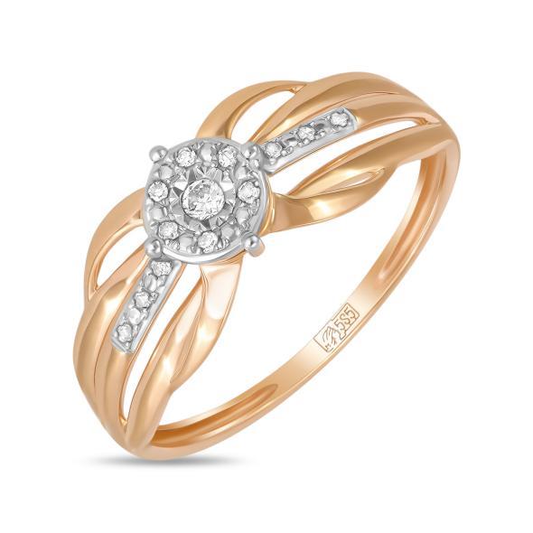 Золотое кольцо Бриллиант арт. r01-d-70663r001-r17 r01-d-70663r001-r17