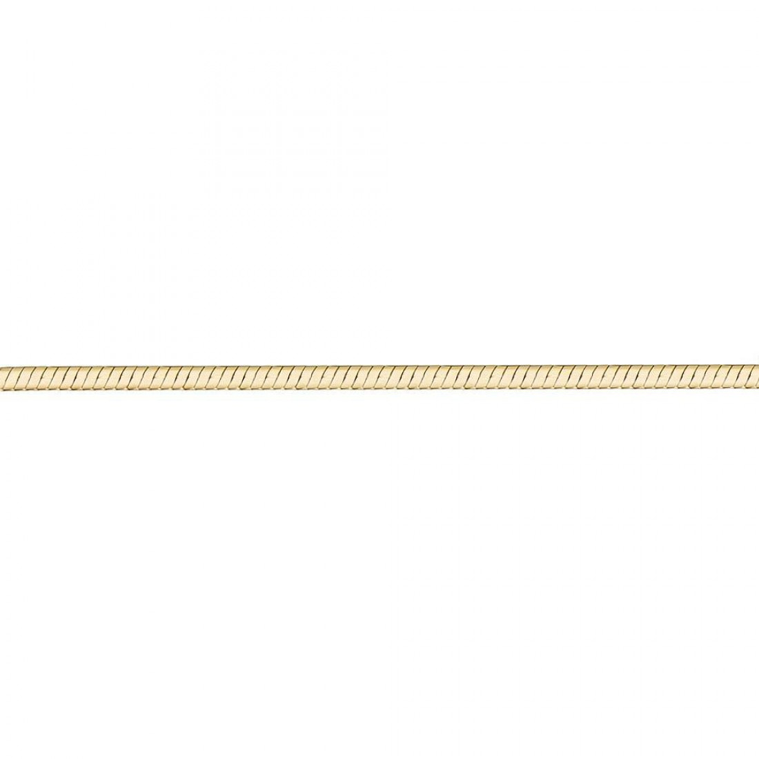 Цепь-жгут из лимонного золота арт. цп125ука1п-а53 цп125ука1п-а53