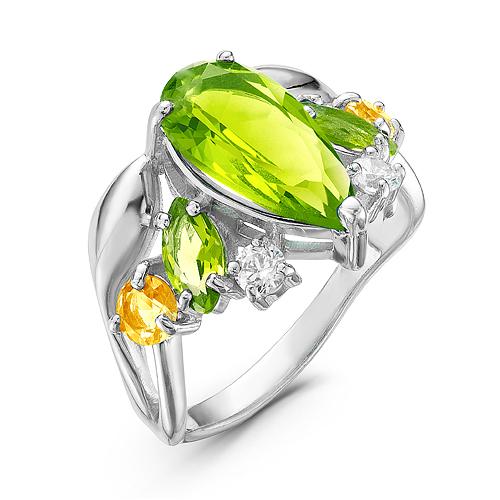 Серебряное кольцо Прочие и Фианит арт. кр-057-11 кр-057-11