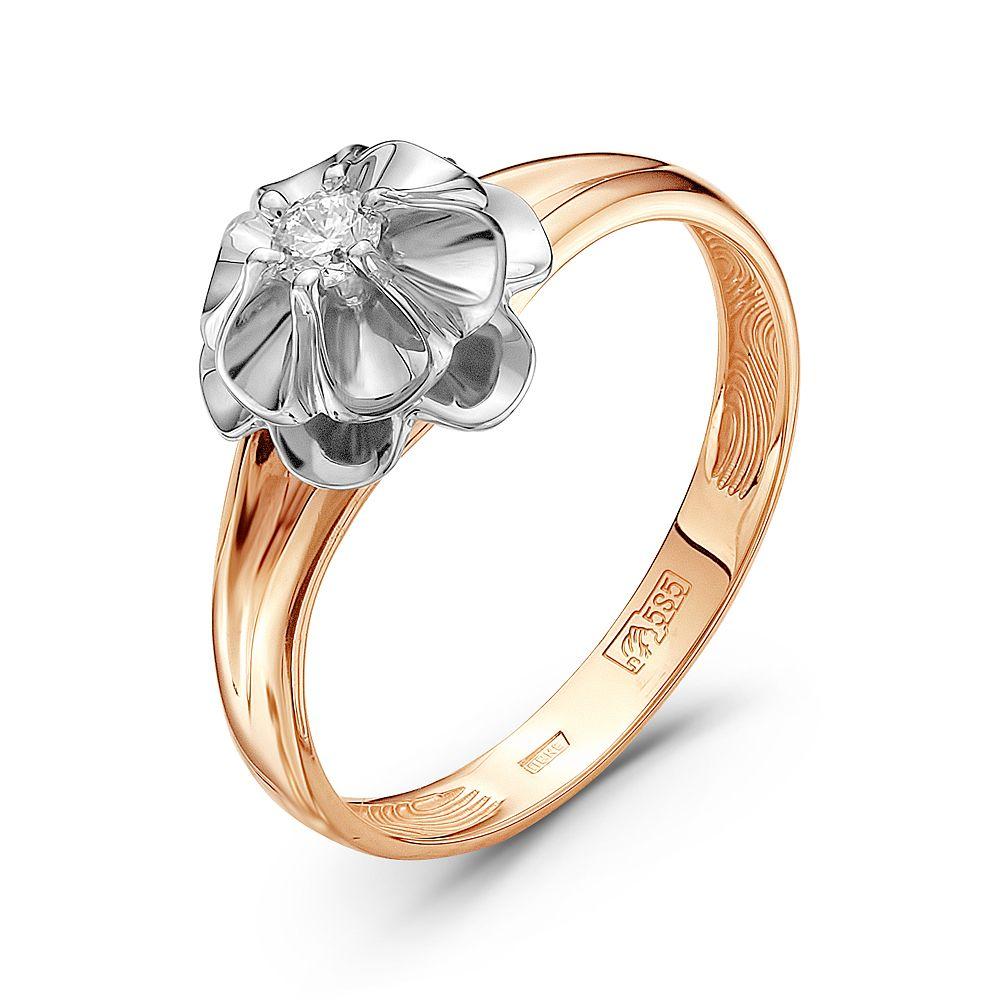 Золотое кольцо Бриллиант арт. 64000089-1 64000089-1