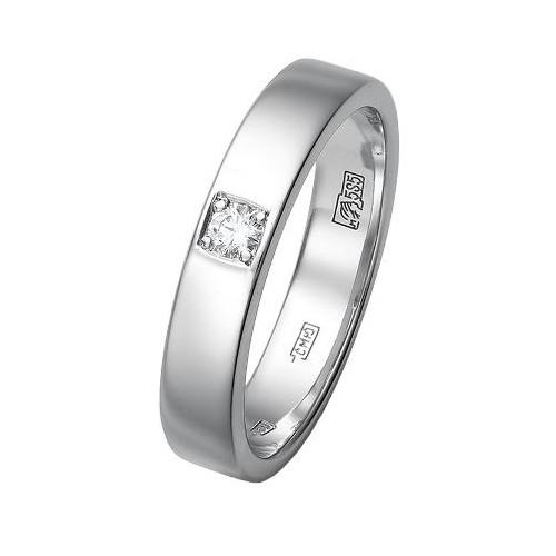 Кольцо из белого золота Бриллиант арт. 73290 73290