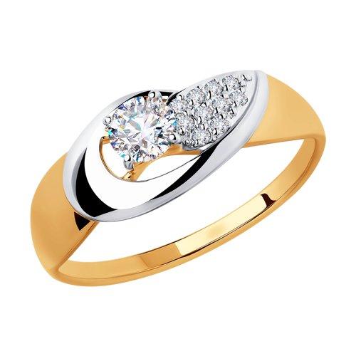 Золотое кольцо Фианит арт. 51-110-00251-1 51-110-00251-1