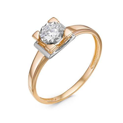 Золотое кольцо Фианит арт. 1100145 1100145