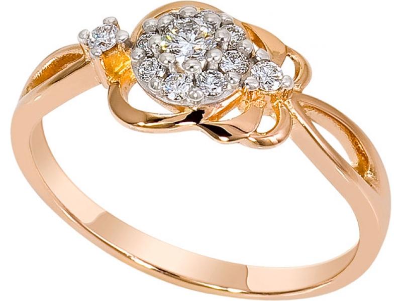Золотое кольцо Бриллиант арт. 1019131-11140 1019131-11140