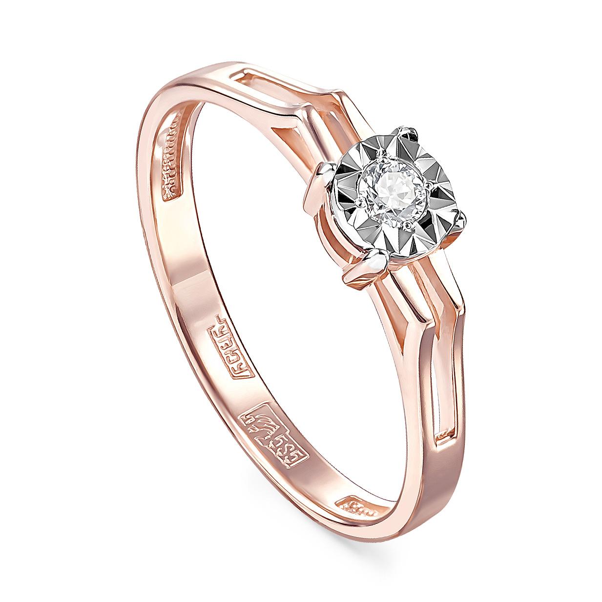 Золотое кольцо Бриллиант арт. 11-01111-1000 11-01111-1000
