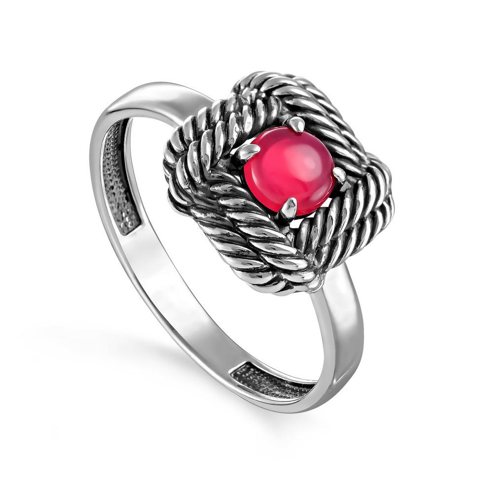 Серебряное кольцо Оникс арт. 11-242-1983 11-242-1983