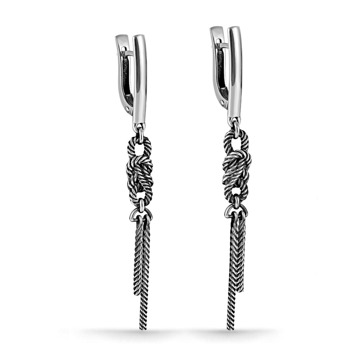 Серебряные серьги арт. 12-248-0083 12-248-0083