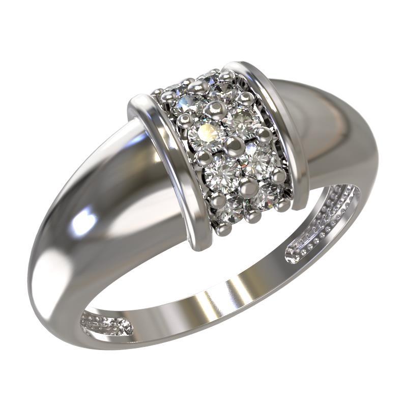Серебряное кольцо Фианит арт. 1033441-01210 1033441-01210