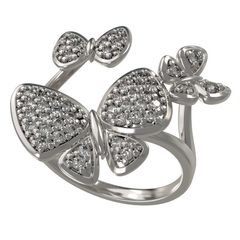 Серебряное кольцо Фианит арт. 1033961-01110 1033961-01110