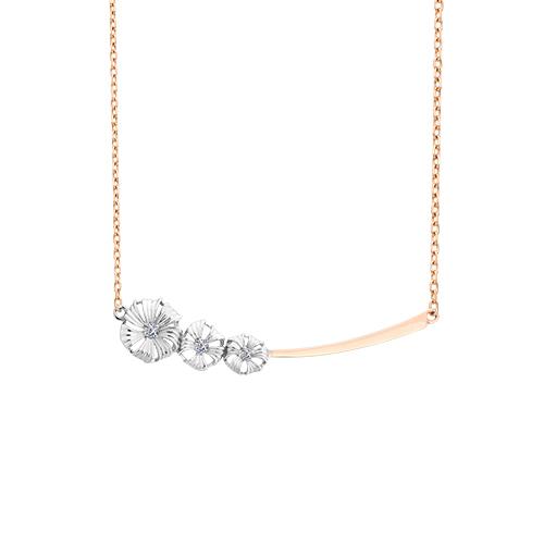 Золотое колье с бриллиантом арт. 6-294 6-294