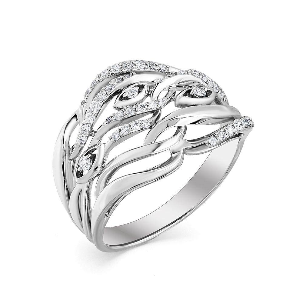 Кольцо из белого золота Бриллиант арт. 1-107-501 1-107-501