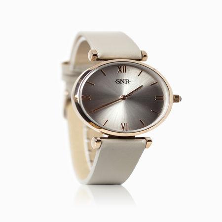 Женские часы с эбонитом и ювелирным стеклом арт. 48703 48703