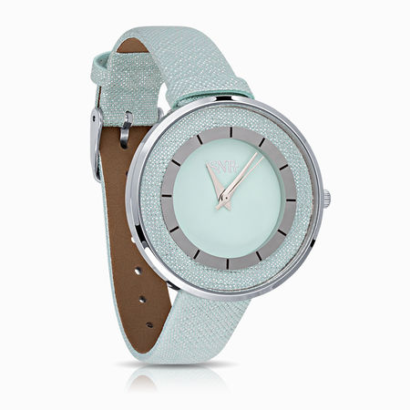 Женские часы с эбонитом и ювелирным стеклом арт. 45122 45122