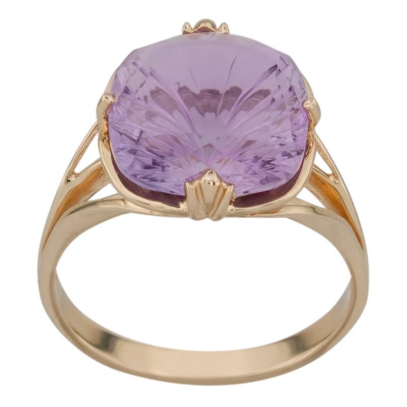 Золотое кольцо Аметист арт. 011401а 011401а