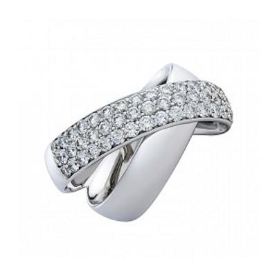 Кольцо из белого золота Бриллиант арт. 010629-б 010629-б