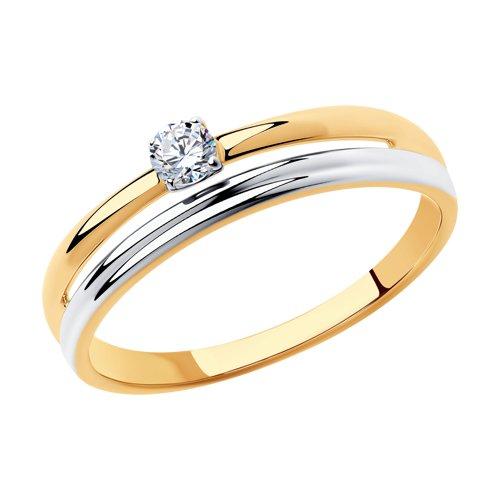 Золотое кольцо Фианит арт. 018314 018314