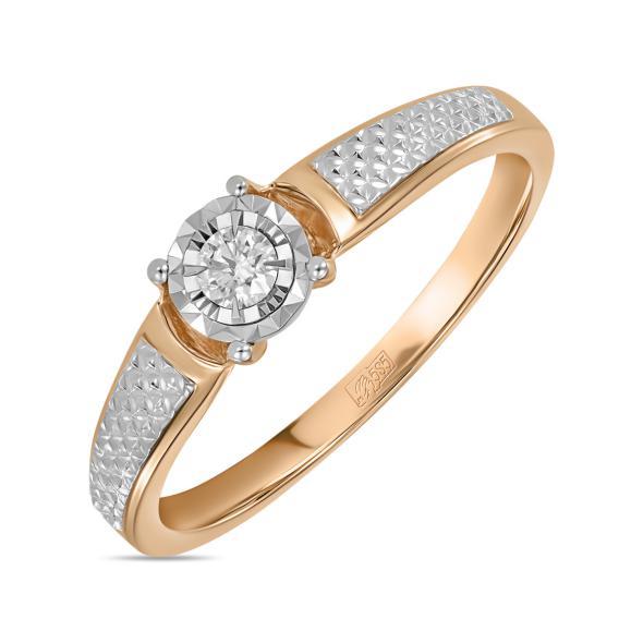 Золотое кольцо Бриллиант арт. r01-d-rr010206adi r01-d-rr010206adi