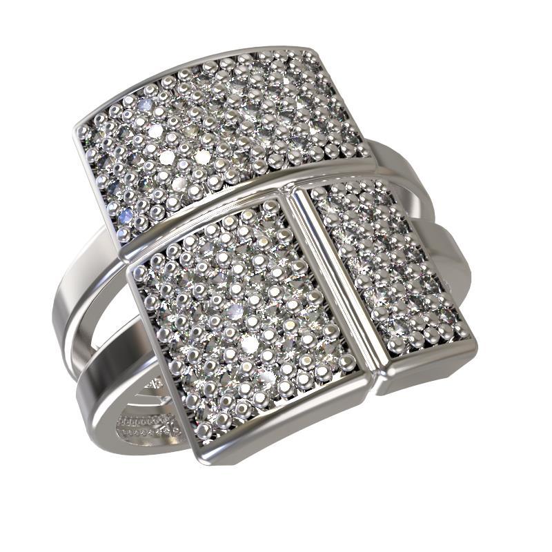 Серебряное кольцо Фианит арт. 1033411-01110 1033411-01110