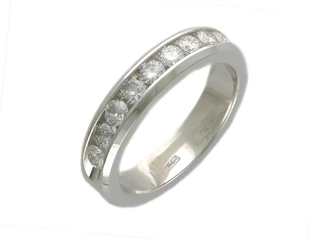 Кольцо из белого золота Бриллиант арт. 01к625266 01к625266