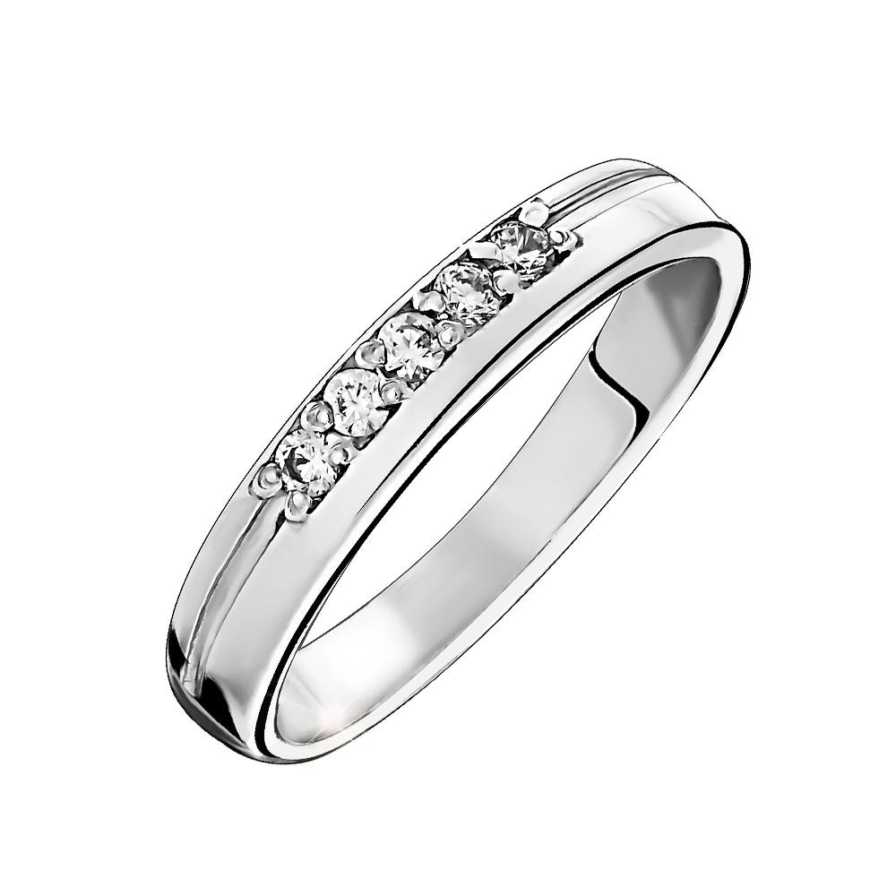 Серебряное кольцо Фианит арт. к3012р 15.5 к3012р 15.5