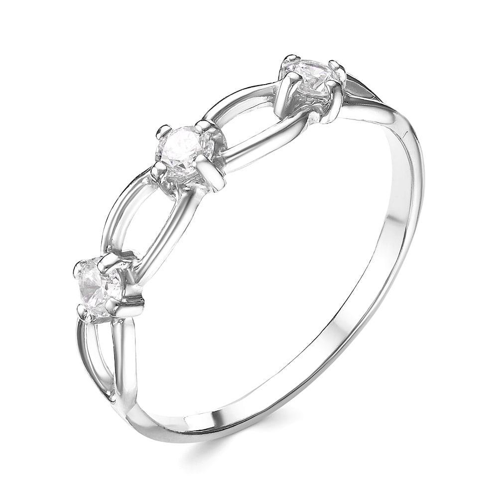 Серебряное кольцо Фианит арт. к3410р 17.0 к3410р 17.0