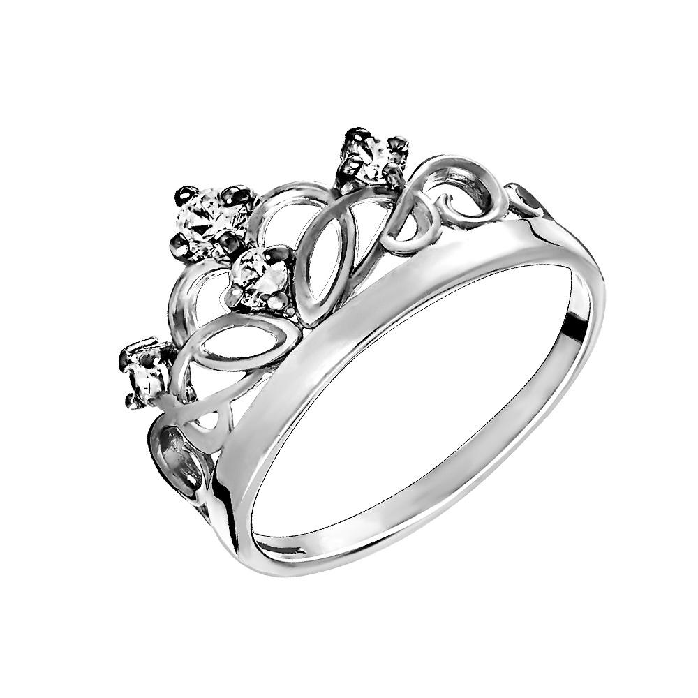 Серебряное кольцо Фианит арт. к3092р 18.5 к3092р 18.5