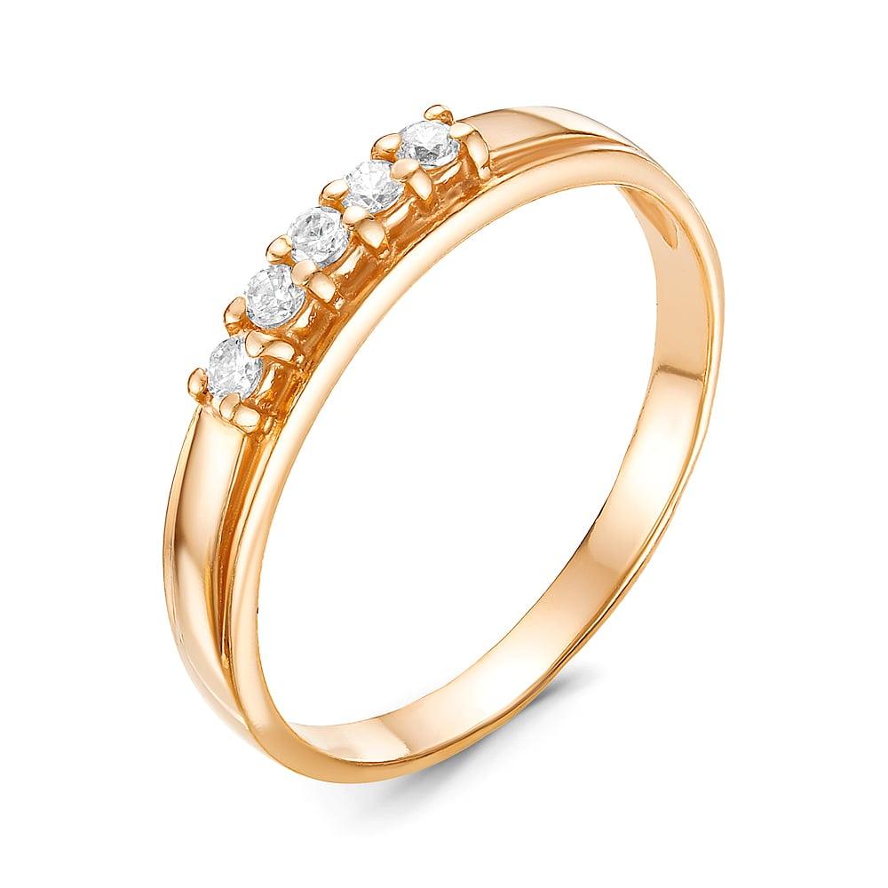 Серебряное кольцо Прочие и Фианит арт. к3001п 17.5 к3001п 17.5