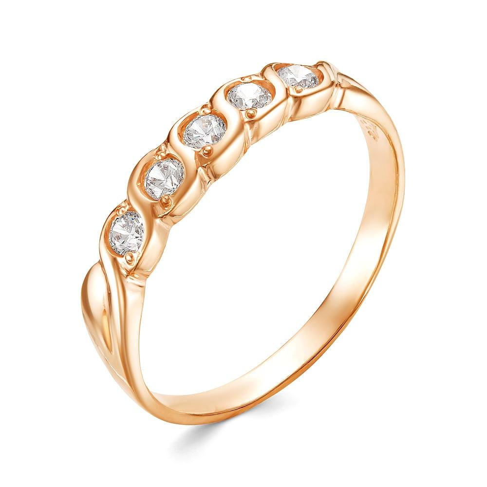 Серебряное кольцо Прочие и Фианит арт. к3005п 18.5 к3005п 18.5