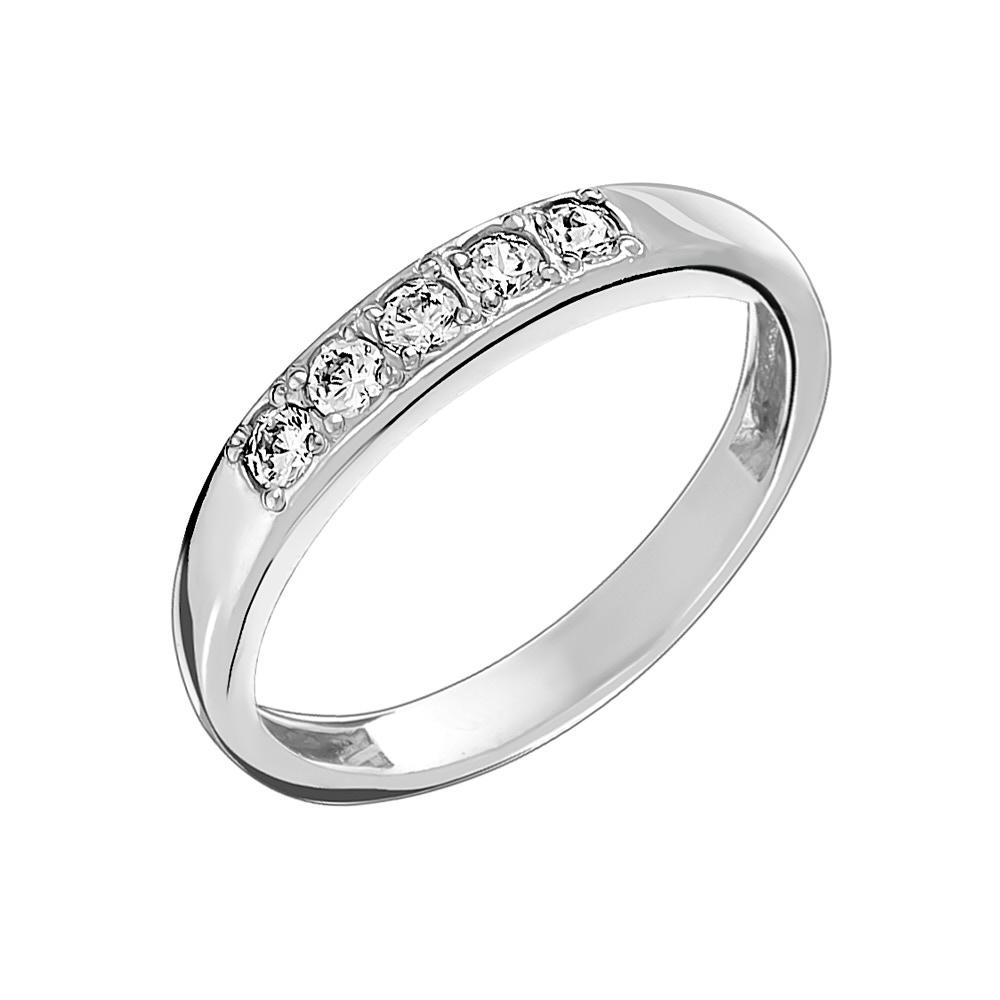 Серебряное кольцо Фианит арт. к508 17.5 к508 17.5