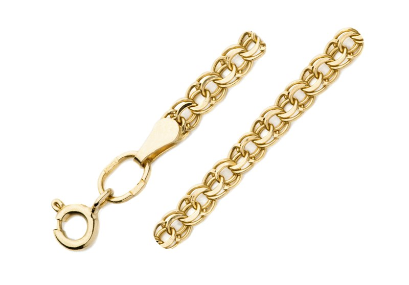 Облегченный браслет из золота арт. 7080200п-19 7080200п-19