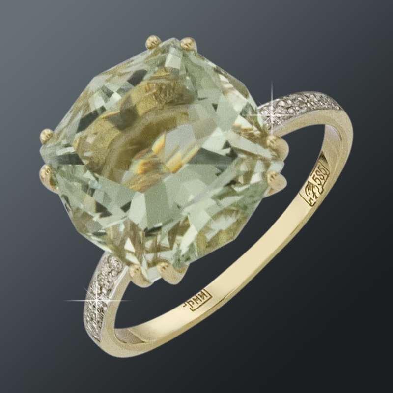Золотое кольцо 011480квокц