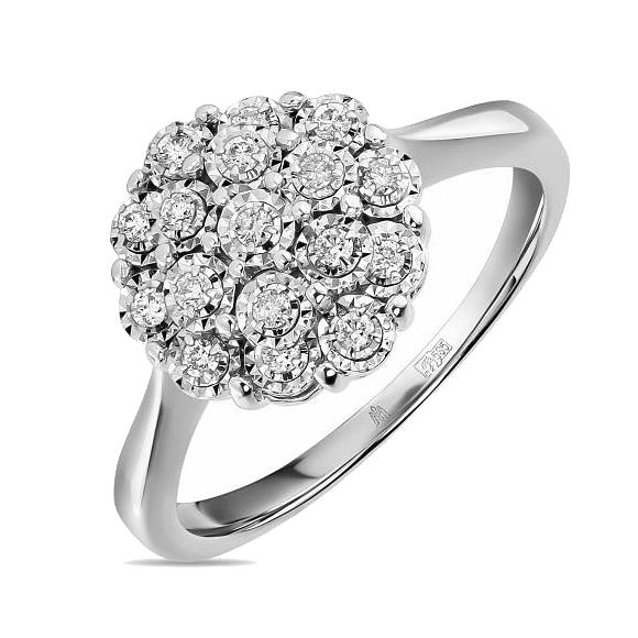 Золотое кольцо Бриллиант арт. r01-d-l-pl-35042 r01-d-l-pl-35042