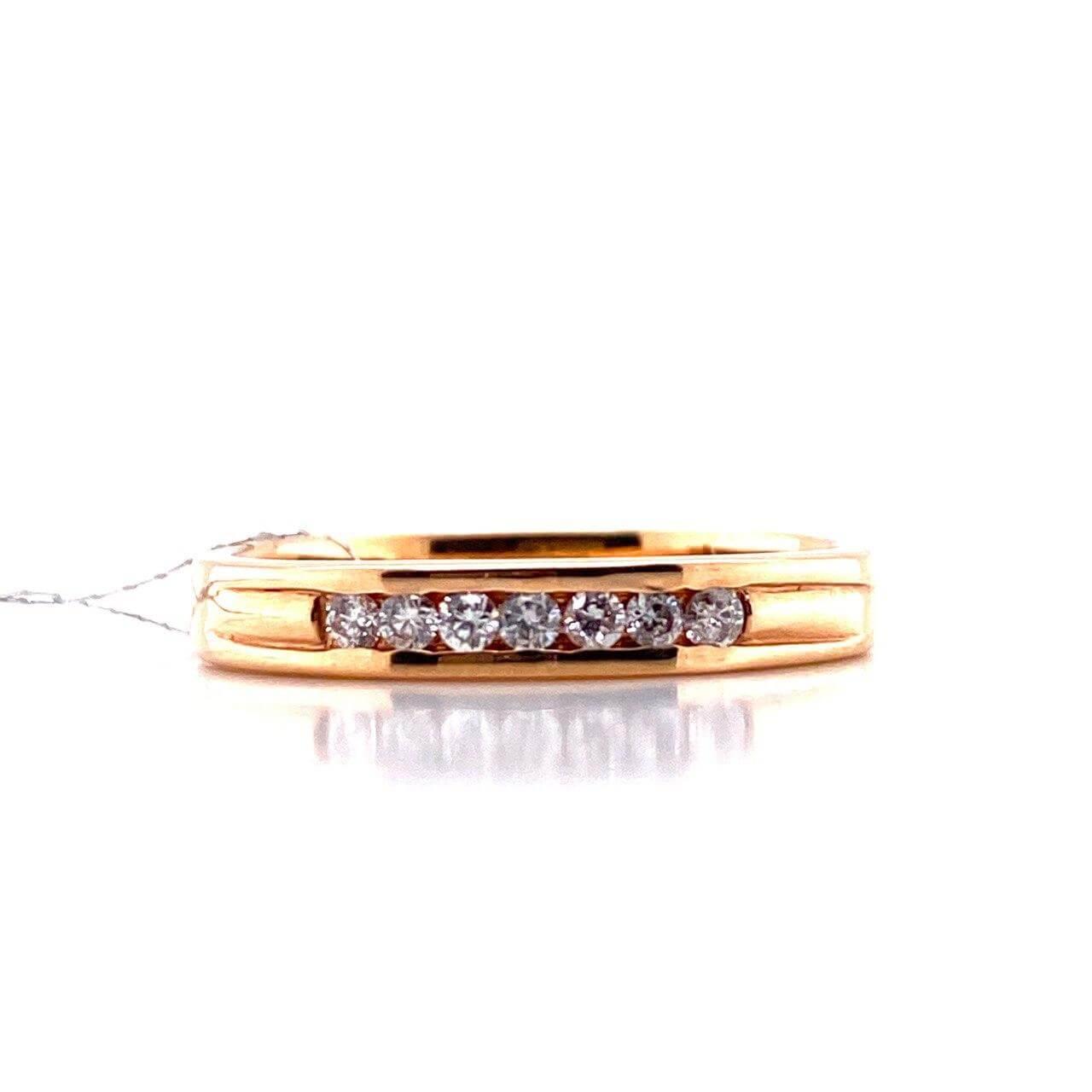 Золотое кольцо Бриллиант арт. БПК11041-0-0,18 БПК11041-0-0,18