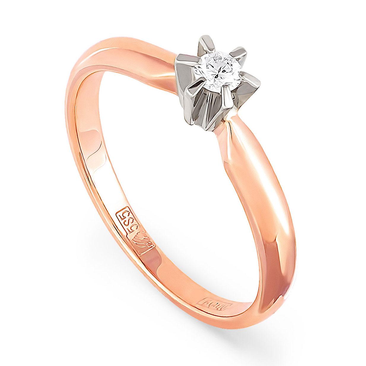 Золотое кольцо Бриллиант арт. 1-0026-1000 1-0026-1000