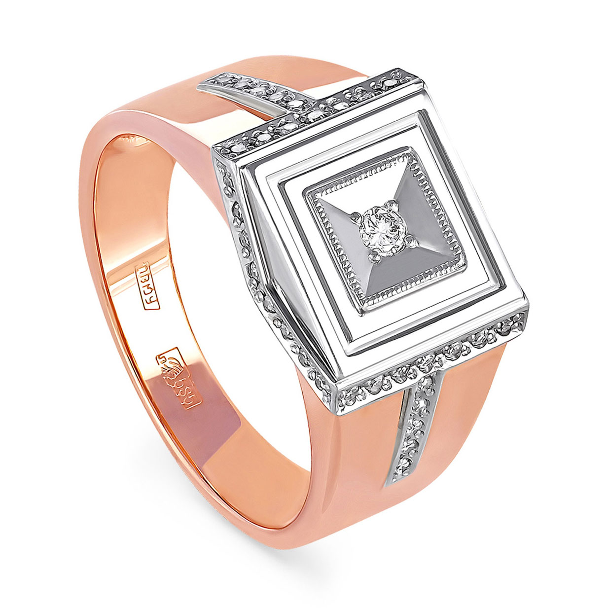 Золотое кольцо Бриллиант арт. 1-0091-1000 1-0091-1000