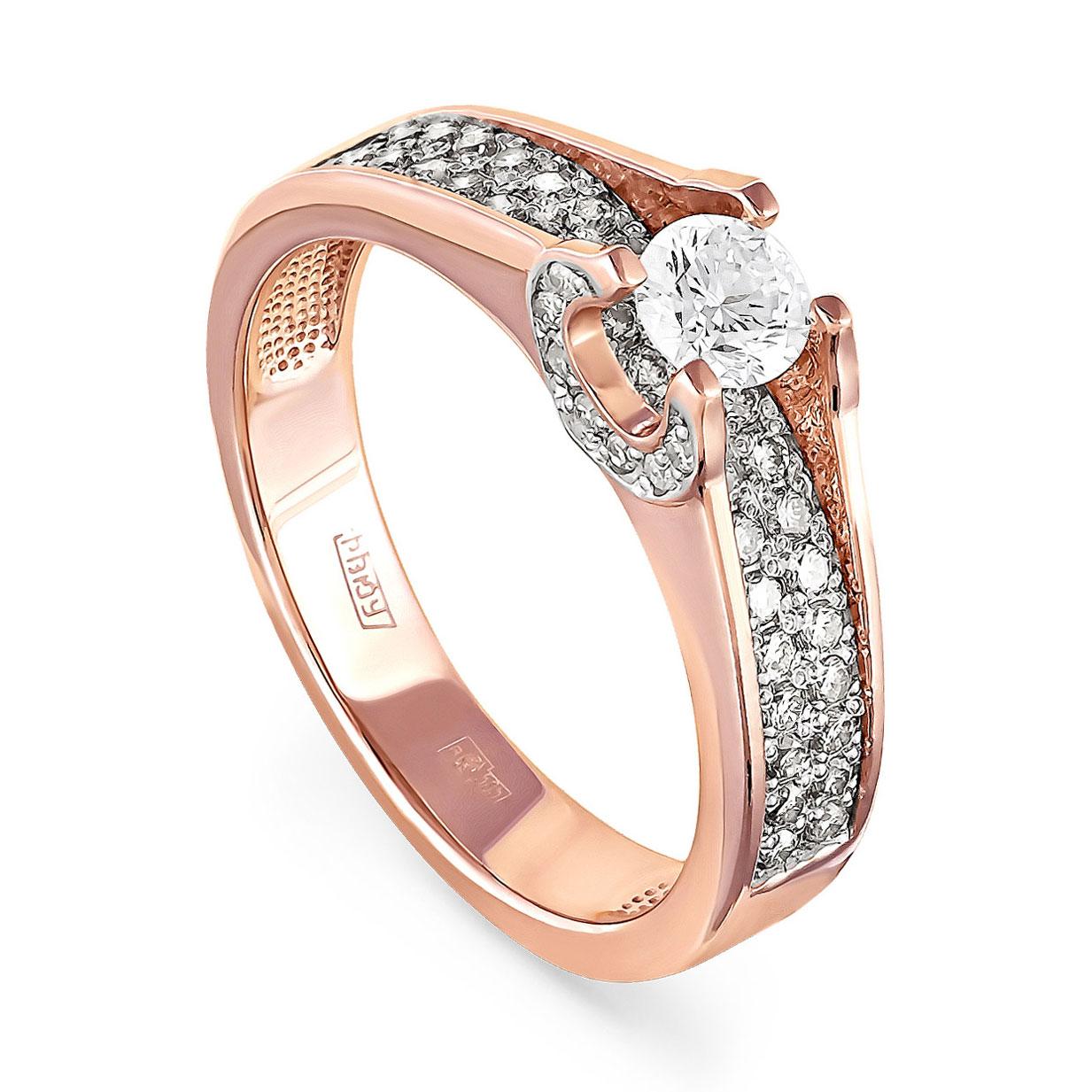 Золотое кольцо Бриллиант арт. 1-0129-1000 1-0129-1000