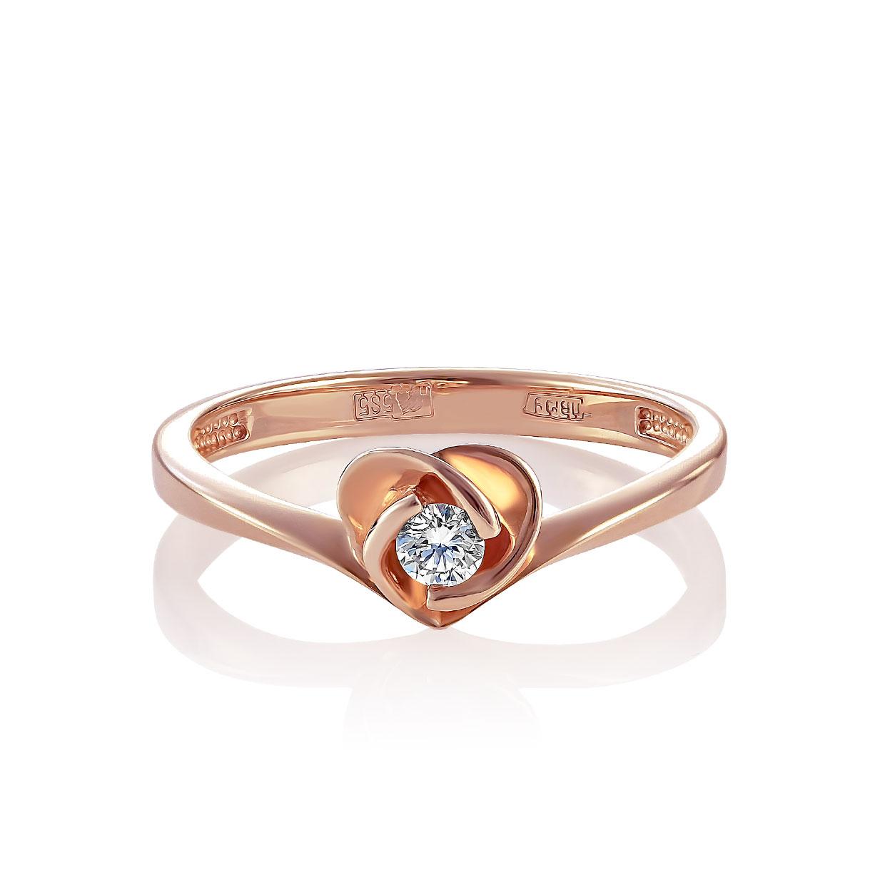 Золотое кольцо Бриллиант арт. 1-0138-1000 1-0138-1000