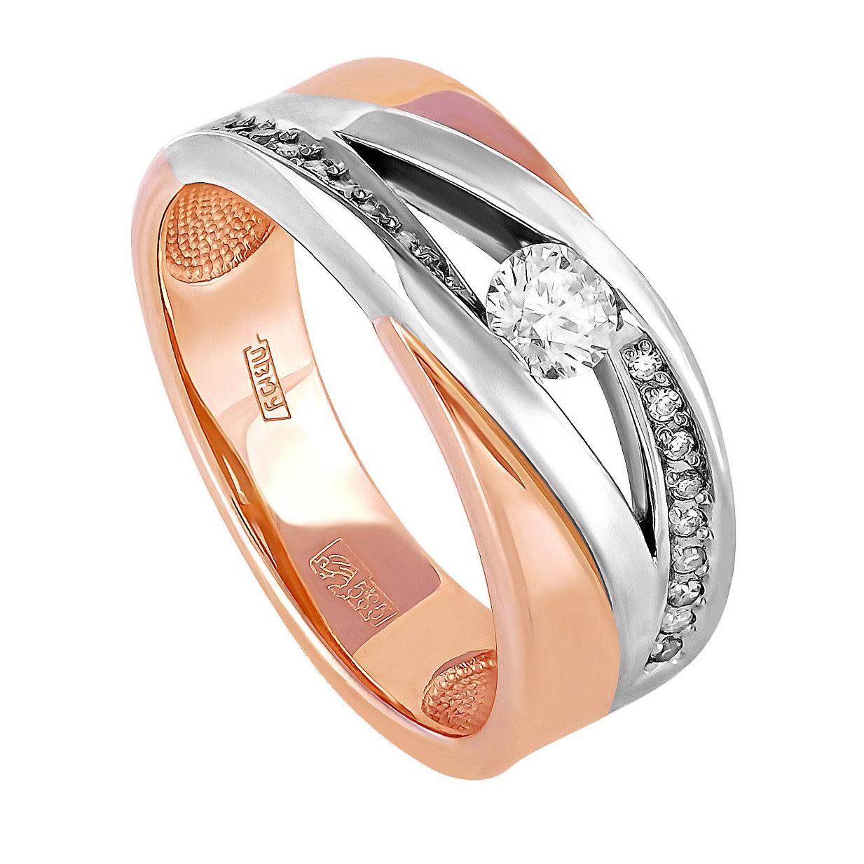 Золотое кольцо Бриллиант арт. 1-0139-1000 1-0139-1000