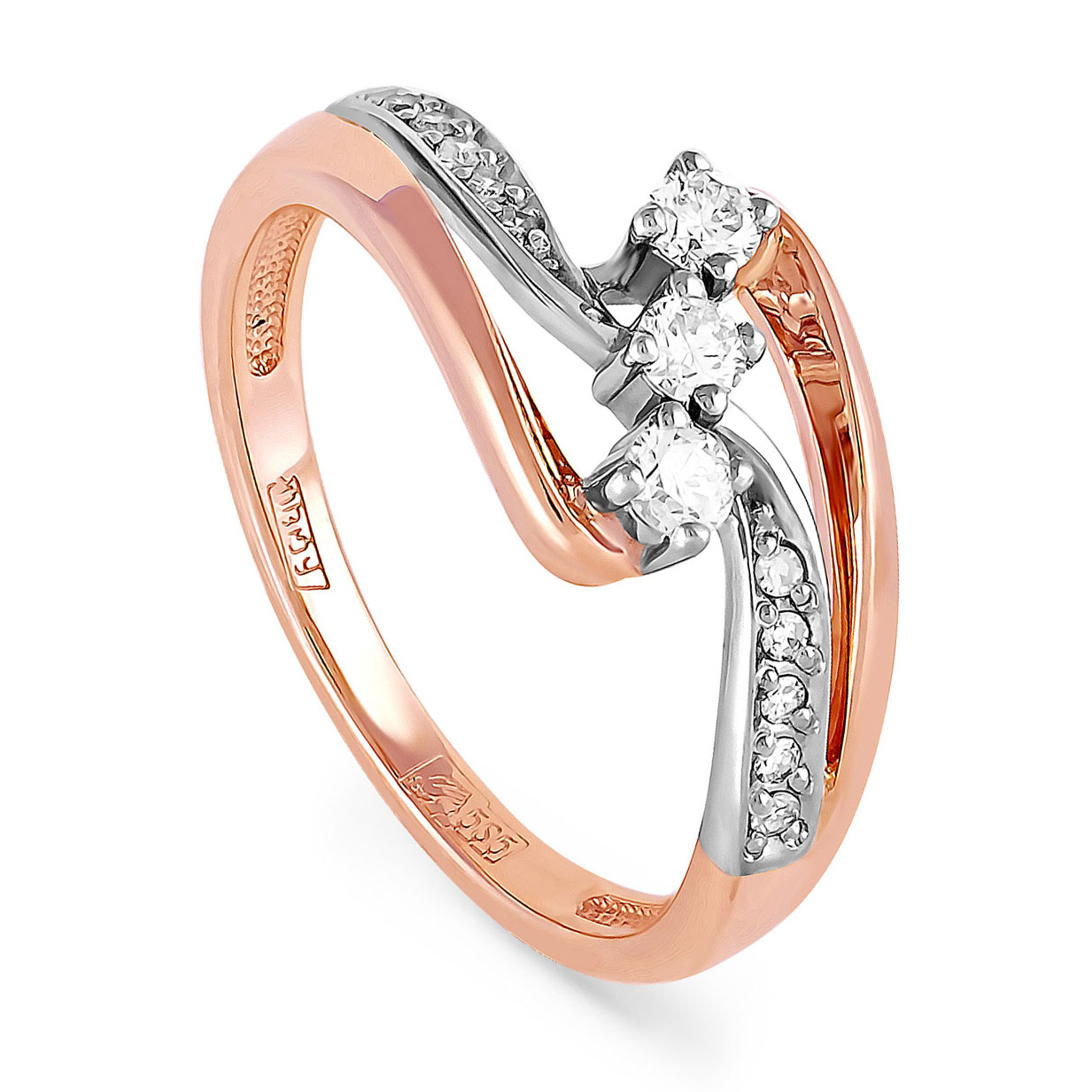 Золотое кольцо Бриллиант арт. 1-0152-1000 1-0152-1000