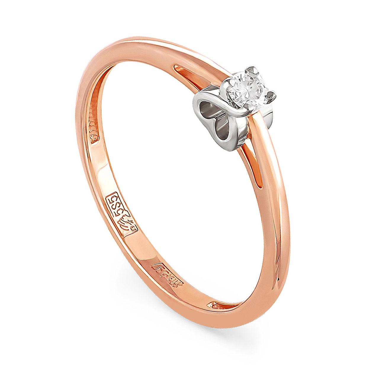 Золотое кольцо Бриллиант арт. 1-0172-1000 1-0172-1000