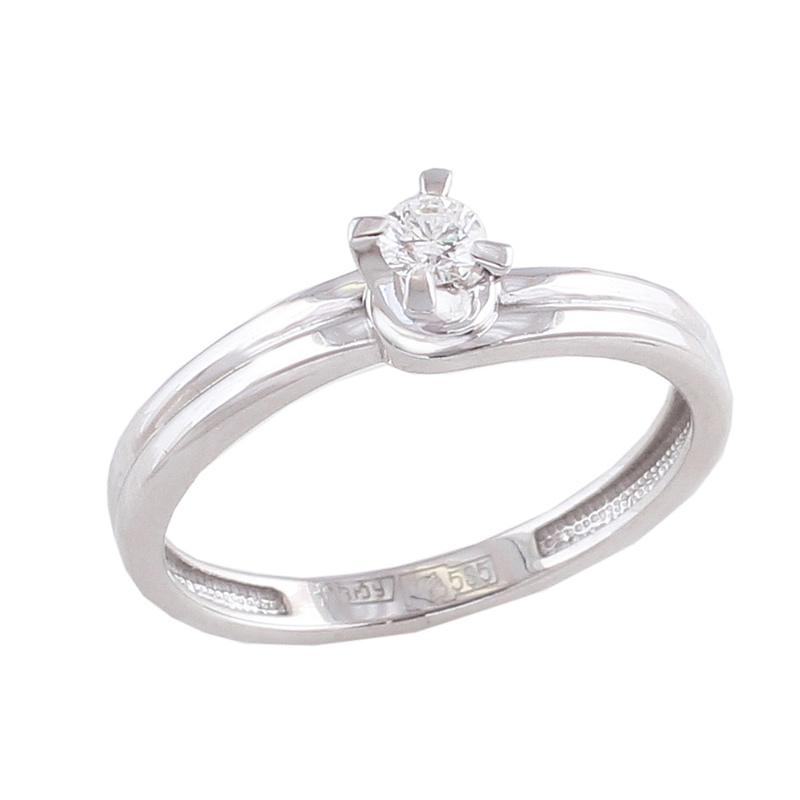 Золотое кольцо Бриллиант арт. 1-0252-1000 1-0252-1000