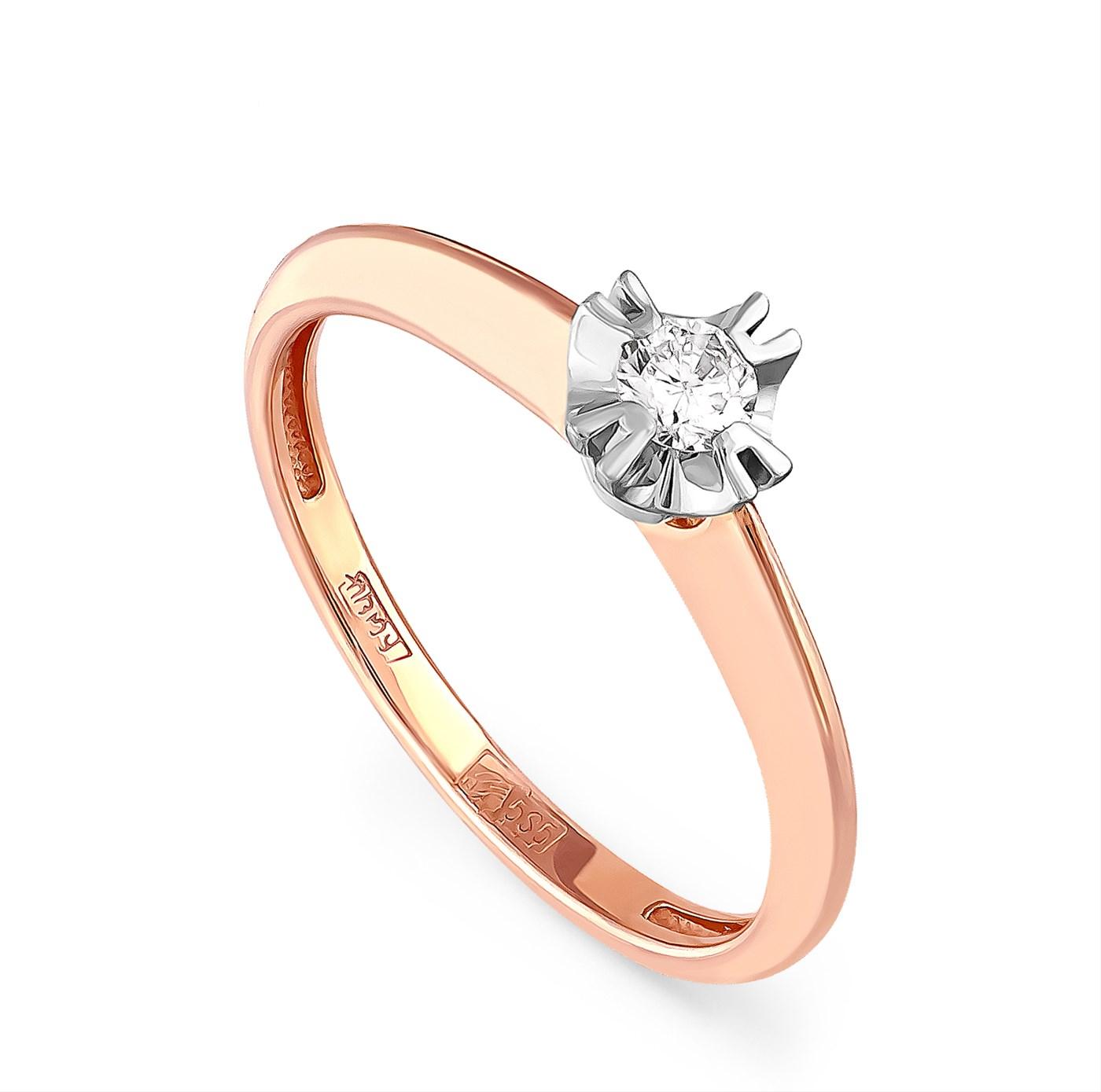 Золотое кольцо Бриллиант арт. 1-0264-1000 1-0264-1000