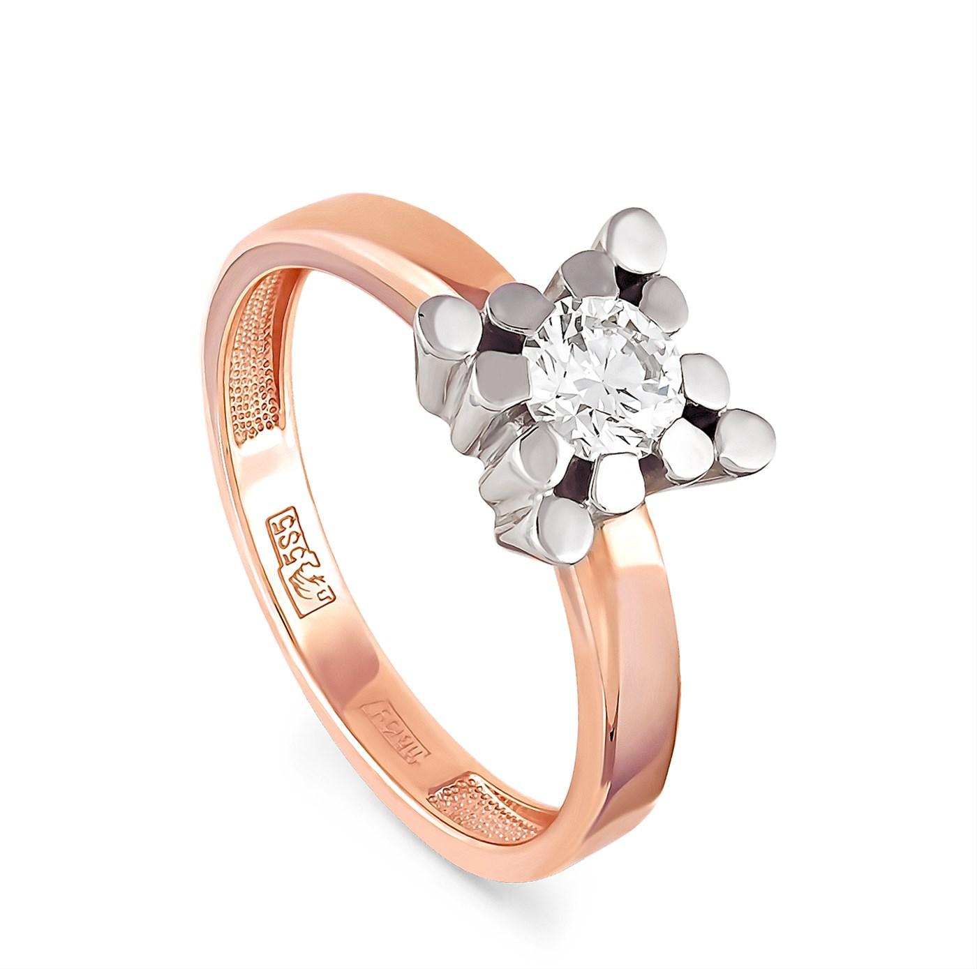 Золотое кольцо Бриллиант арт. 1-0268-1000 1-0268-1000